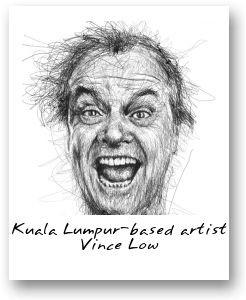 Kuala Lumpur-based artist Vince Low