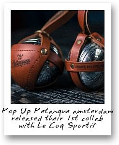 Pop Up Petanque x Le Coq Sportif