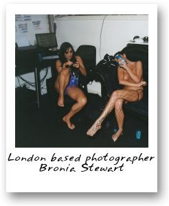 London based photographer Bronia Stewart