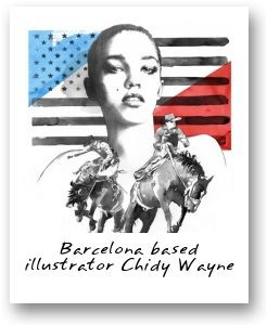 Barcelona based illustrator Chidy Wayne