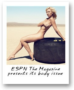 ESPN The Magazine presents its body issue
