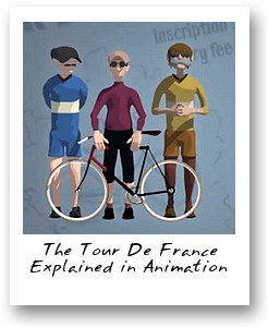 The Tour De France Explained in Animation by InfobytesTV