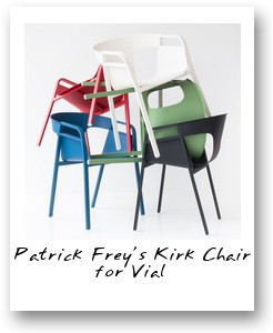 Patrick Frey's Kirk Chair for Vial