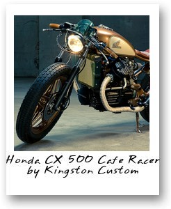 Honda CX 500 Cafe Racer by Kingston Custom