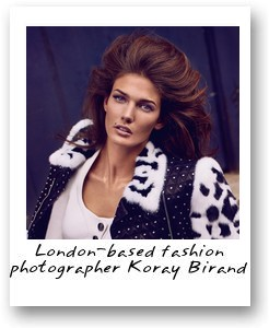 London-based fashion photographer Koray Birand