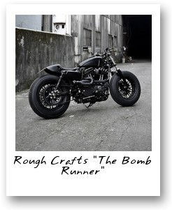 The Bomb Runner Motorcycle by Rough Crafts