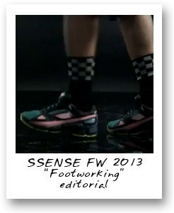 SSENSE FW 2013 Footworking editorial