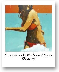 French artist Jean Marie Drouet