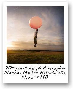 20-year-old photographer Marcus Moller Bitsch, aka Marcus MB