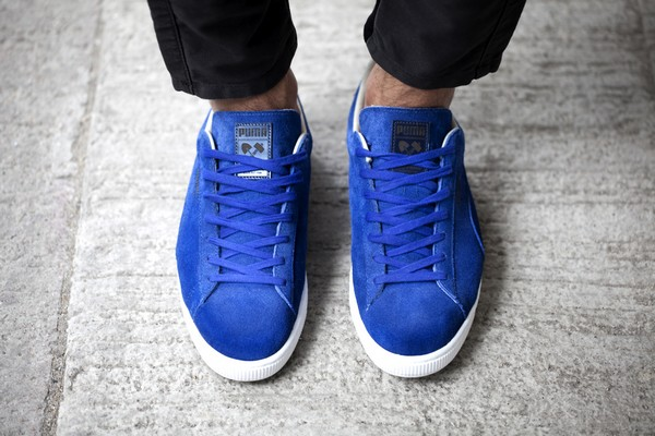 "To celebrate this event PUMA launches a Suede limited edition in ""Sapphire"" f3f9b2d54"