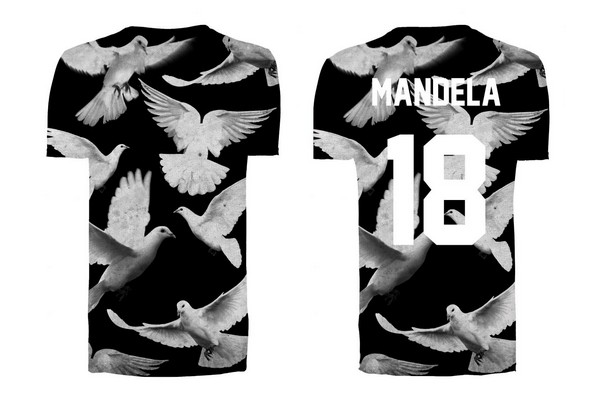 "ELEVENPARIS ""Mandela 18"" Tribute T-Shirt"