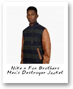 Nike x Fox Brothers Men's Destroyer Jacket