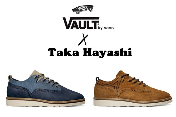 7dda1cd562 Vans Vault presents a new capsule collection designed by Taka Hayashi for  Holiday 2013. For its ninth collaboration with Vans