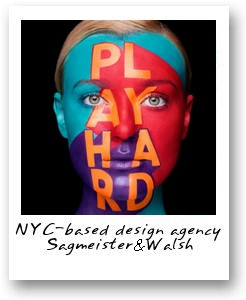 NYC-based design agency Sagmeister & Walsh