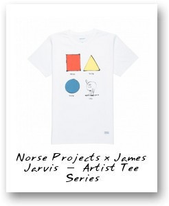 Norse Projects x James Jarvis – Artist Tee Series