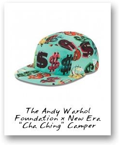 The Andy Warhol Foundation x New Era 'Cha Ching' Camper