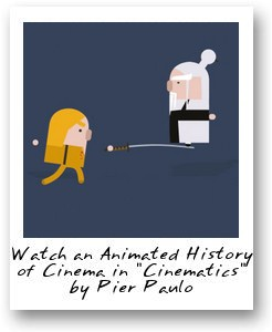 "Watch an Animated History of Cinema in ""Cinematics"" by Pier Paulo"