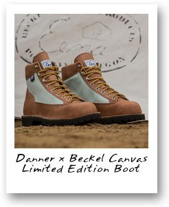 Danner x Beckel Canvas Limited Edition Boot