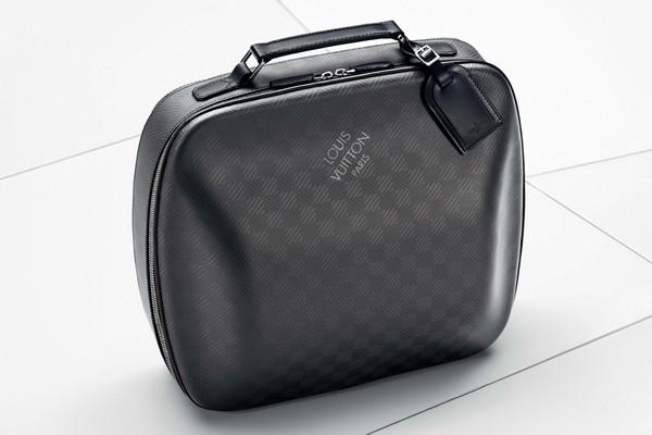 Louis Vuitton X Bmw I8 Carbon Fiber Luggage Collection