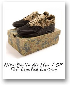 Nike Berlin Air Max 1 SP F&F Limited Edition