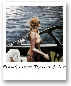French artist Thomas Saliot
