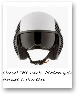 "Diesel ""Hi-Jack"" Motorcycle Helmet Collection"