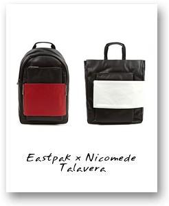 Eastpak x Nicomede Talavera Spring/Summer 2014