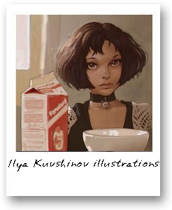 Ilya Kuvshinov illustrations