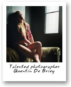 Talented photographer Quentin De Briey