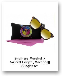 Brothers Marshall x Garrett Leight 'Machado' Sunglasses