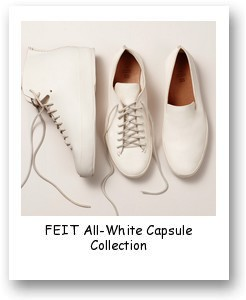 FEIT All-White Capsule Collection