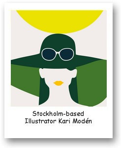 Stockholm-based Illustrator Kari Modén