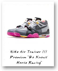 "Nike Air Trainer III Premium ""Bo Knows Horse Racing"""