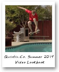 Quintin Co. Summer 2014 Video Lookbook