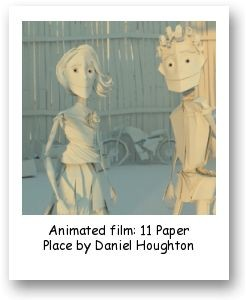 Animated film: 11 Paper Place by Daniel Houghton