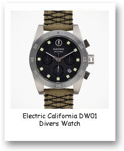 Electric California DW01 Divers Watch