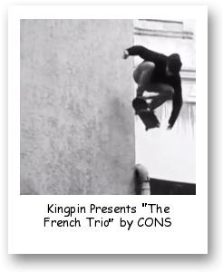 "Kingpin Presents ""The French Trio"" by CONS"