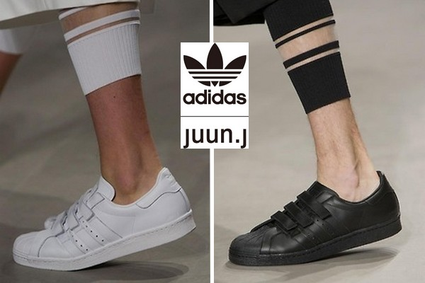 Juun.J x adidas Originals Superstar