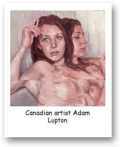 Canadian artist Adam Lupton