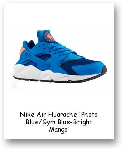Nike Air Huarache 'Photo Blue/Gym Blue-Bright Mango'