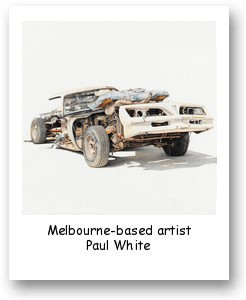 Melbourne-based artist Paul White