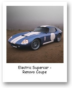 Electric Supercar - Renovo Coupe