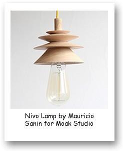 Nivo Lamp by Mauricio Sanin for Moak Studio