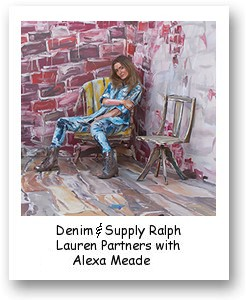 Denim & Supply Ralph Lauren Partners with Alexa Meade for Project Warehouse Mission 2