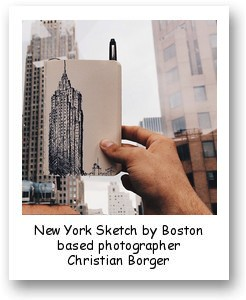 New York Sketch by Boston based photographer Christian Borger