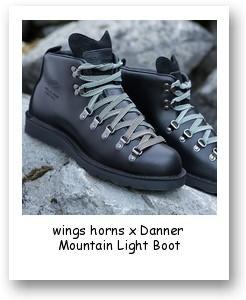 wings+horns x Danner Mountain Light Boot
