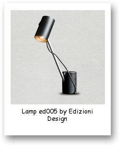Lamp ed005 by Edizioni Design