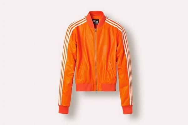 Veste pharell williams x adidas orange fluo