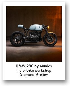 BMW R80 by Munich motorbike workshop Diamond Atelier