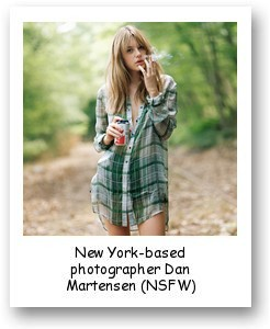 New York-based photographer Dan Martensen